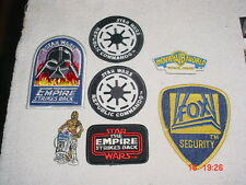 Star Wars Lot of 7x New Zealand & Australian Cloth Patches Badges Magnet