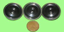 "3pc 1.25"" Star Speaker, Small 32mm - 8ohm .4w SPRING CONTACTS Mini Tiny .4 watt"