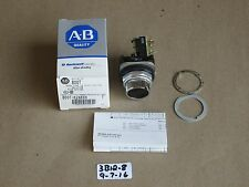 +NEW IN BOX ALLEN BRADLEY 800T-K2AXXX SER T BLACK PUSH BUTTON SELECTOR SWITCH