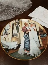 """Her First Formal"" A Norman Rockwell Collector'S Plate"