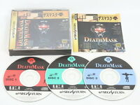 DEATH MASK DEATHMASK REF ccc Sega Saturn ss