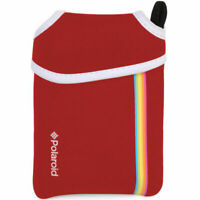 New Authentic Red Polaroid Neoprene Pouch for The Polaroid Snap Instant Camera