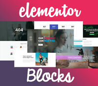 500+ Elementor Blocks / Templates (Wordpress). No PRO Needed! PACK 2