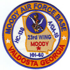 USAF BASE PATCH, MOODY AFB, VALDOSTA GEORGIA.23RD WING