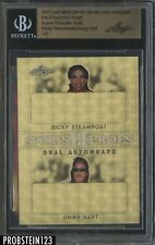 2017 Leaf Metal Pre-Production Proof Super Prismatic Gold Steamboat Hart BGS 1/1