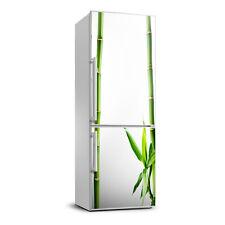 3D Art Refrigerator Wall Kitchen Removable Sticker Magnet Flowers Plants Bamboo