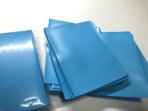 Lenayuyu 100pcs Lightblue Protector Standard MTG Card Sleeves 66x91mm Matte