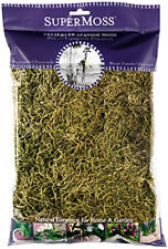 SuperMoss 26967 Spanish Moss Preserved, Basil, 8oz 200 cubic inch