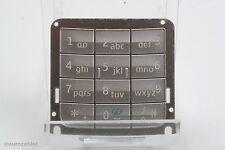 ORIGINALE Nokia e65 TASTIERA TASTI MATTE SILVER ARGENTO numericamente Numeric e 65...