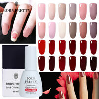 BORN PRETTY 10ml Colorful Gellack  Pink Soak Off Nagel Kunst Gel Varnish