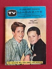 "1957, ""Leave it to Beaver"", Tv Magazine (Scarce) Jerry Mathers"