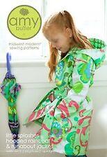Amy Butler Sewing Pattern - Little Splashes Children's Hooded Raincoat & Jacket