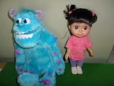 "Disney Monsters Inc University Plush Talking Sulley Babbling Boo 12"" LOT"