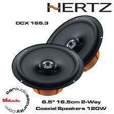 """HERTZ dcx165.3 dieci Series 16.5cm 6.5"""" 2-way Coassiale Altoparlanti Porta ciascuno 120w"""