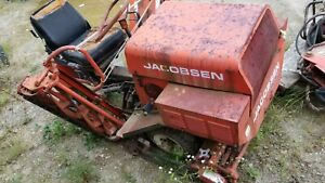 Vintage Jacobsen 3 Reel Golf Course Riding Lawn Mower Turf King II 76