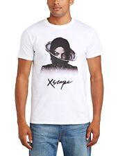 Michael JACKSON XSCAPE Uomo Regular Fit Collare Rotondo Manica Corta T-shirt, Whit