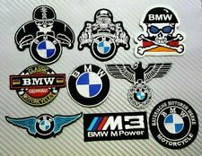 BMW MOTORCYCLE CAR RACING SPORTS MOTOR BADGE CAP Embroidered Patch Iron Sew Logo