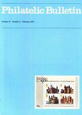 Philatelic Bulletin Volume 15 Number 6 February 1978, good condition