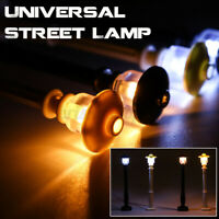 4Pcs DIY LED Light Lamp Post Lantern Fit For Lego Street Building Shop Model p