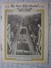 The War Illustrated #236 (Victory Parade, Malta, DUKW, Churchill, HMS Kite, RAF)
