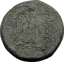 PERGAMON in Mysia Genuine  133BC Authentic Ancient Greek Coin ATHENA NIKE i62575