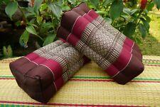 NEW Thai Style Pillows, REAL 100% Kapok, Decor Home, Restaurant, Meditation