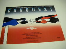 Brass Construction Dynamic Conquest 1985 soul music Promo Poster Ad mint cond.