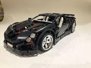 Lego Technic Supercar Custom  Build 42056 Alike