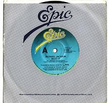 MICHAEL JACKSON - BEAT IT  Very rare 1982 Aussie SOUL/ROCK Single Release! EX