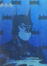 1995 Fleer Ultra DC Batman Forever Movie Hologram chase card # 01 of 36