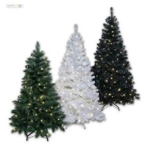 Artificial Christmas Tree, Tree with LED Lighting for Indoors & Outdoors