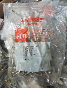 HUCK Unimatic NAS1921B06S07  Fugzeug Nieten, Aerospace Rivets