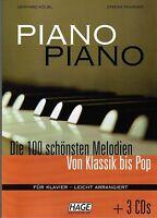 Klavier Noten : PIANO PIANO Band 1  mit 3 CD's - Ausgabe: LEICHT - HAGE EH 3633