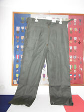 pantalon Kaki armée a identifier période 1960  grande taille