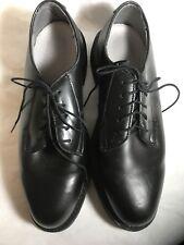 NEW Wellco B301F Military Dress shoes - Women's sz 9 1/2 D Black leather - NEW