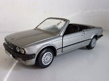 GAMA 1166 BMW 325i  CABRIOLET GRIS METAL W GERMANY 1/43 TTBE VG+ NO BOX