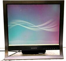 "Monitor SONY SDM-HS75P 17"" 1280 x 1024 1x VGA ingressi 15 pin HD D- 1 x DVI-D"