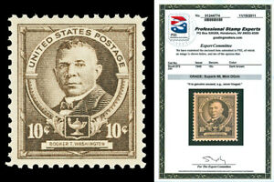 Scott 873 1940 10c Washington Famous Americans Mint Graded Superb 98 NH PSE CERT