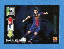 CHAMPIONS 2012-2013 -Adrenalyn Panini- Card LIMITED EDITION- VILLA - BARCELONA