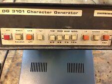 Digitronic DG3101 Character Generator  Linea RTTY Vintage
