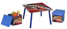Disney Cars table et ottoman, table pour enfants et ensemble de chaises
