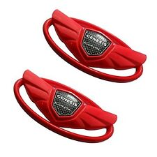 2Pcs Red Color Wing Emblem  Fits For 2010,2011,2012,2013,2014, 15 GENESIS COUPE