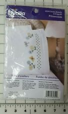 Bucilla Special Edition 2002 Pillowcases Kit Daisies Butterfly Dragonfly Nip