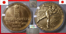 OLYMPISCHE SPIELE XI. OLYMPIC WINTER GAMES MEDAL Ø50mm JAPAN NIHON SAPPORO 1972