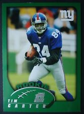 Nfl 348 Tim Carter New York Giants Rookie Topps 2002