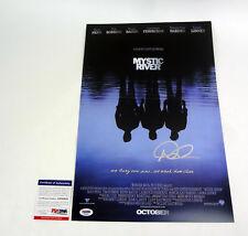 Dennis Lehane Author Signed Autograph Mystic River Movie Poster PSA/DNA COA