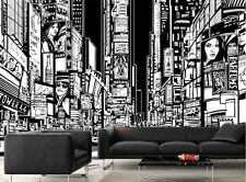 Time Square at Night 12' x 8' (3,66m x 2,44m)-Wall Mural