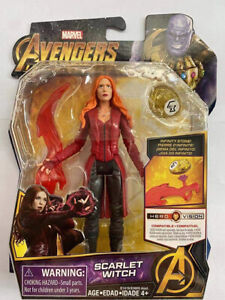 """Marvel Avengers Infinity War Scarlet Witch 6"""" Action Figure Toy by Hasbro"""