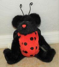 "Vintage Boyds Bears Lady B. Bug #91775 Ladybug New W/Tags 9"" 1999 Plush & Beanie"