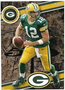 AARON RODGERS GREEN BAY PACKERS CAL GOLDEN BEARS FATHEAD TRADEABLES 2014 #22 HTF